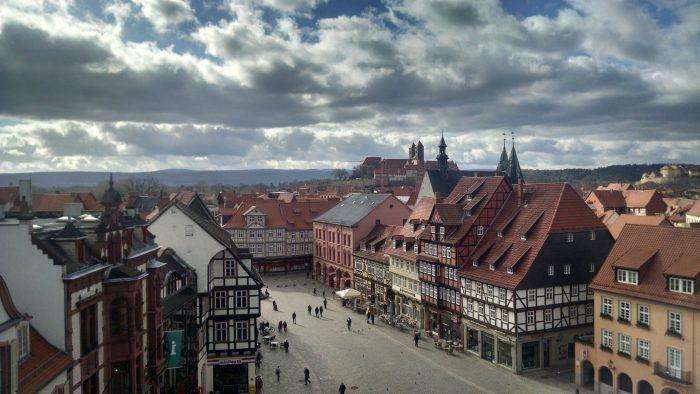 Blick über Quedlinburg